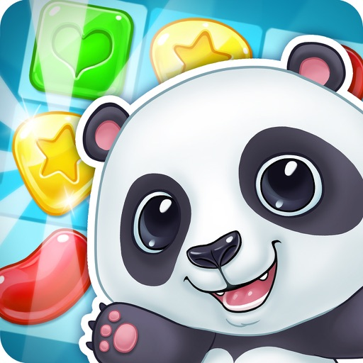 Panda Cookie - pop & smash jam Match 3 Games Free