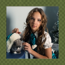 Christmas Photo Frame - Art Photo frame