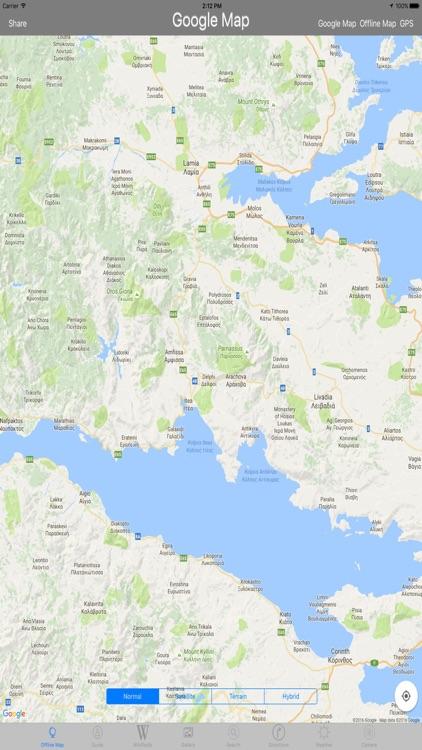 Delphi Archaeological Site Tourist Travel Guide screenshot-3