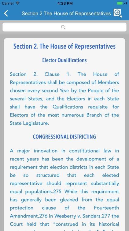 United States Constitution - Pocket Edition screenshot-3