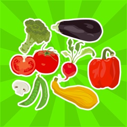 Vegetables Stickers