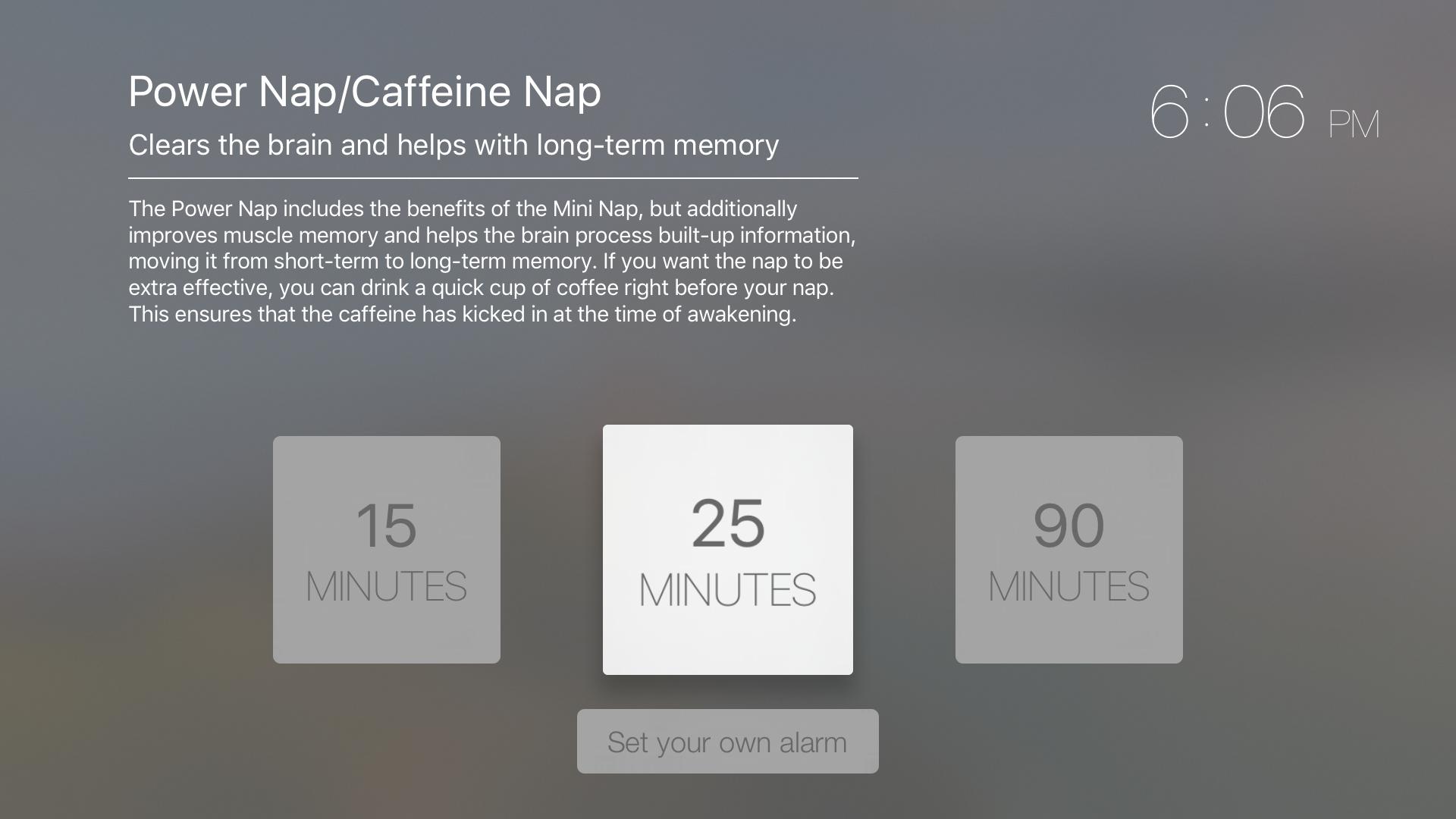 Power Nap - Sleep Efficiently screenshot 1
