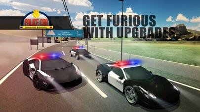 警车驾驶学校 - 超高速漂流 App 截图