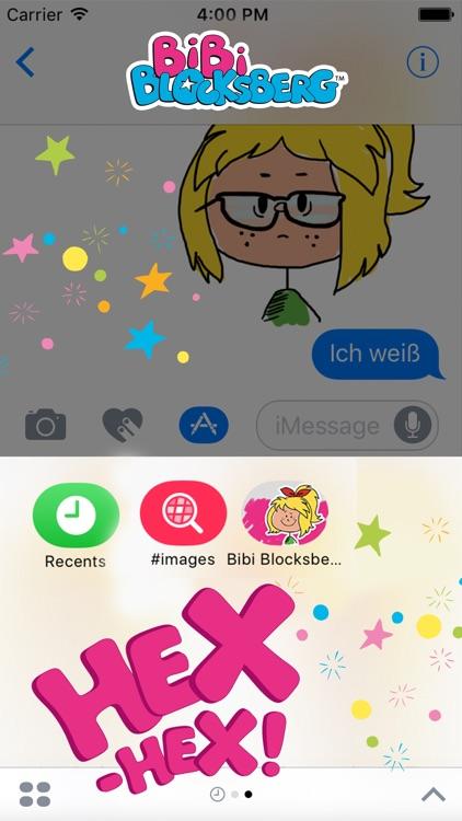 Bibi Blocksberg Comic Emojis