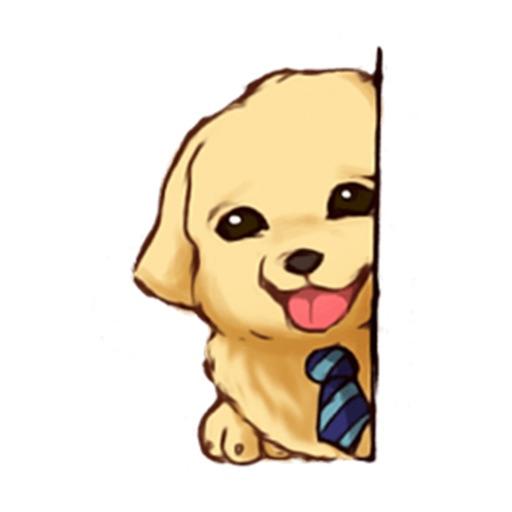 Dog Job Sticker