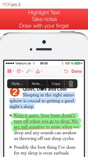 PDF Pro 2 - The ultimate PDF app Screenshot