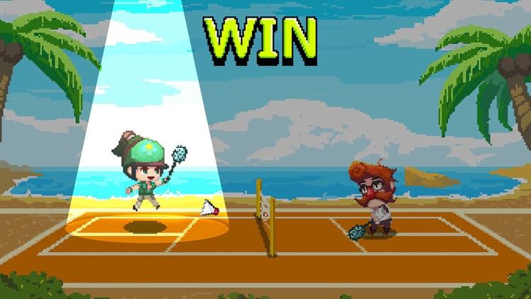 Pixel Cup Badminton screenshot-4