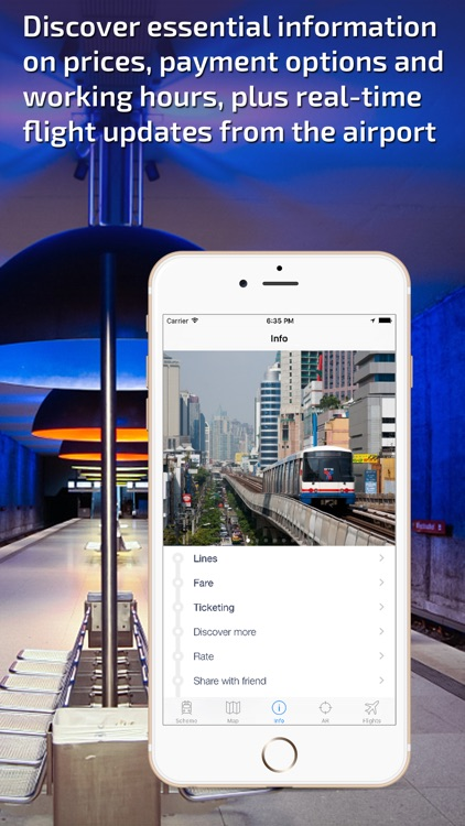 Bangkok Metro Guide and MRT/BTS Route Planner screenshot-4