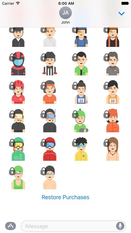 Sports Sticker Set screenshot-4