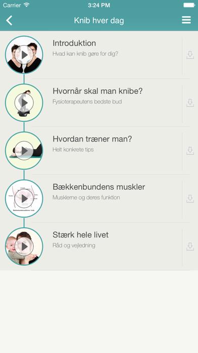 Screenshot for Knibeøvelser – træn din bækkenbund in Denmark App Store