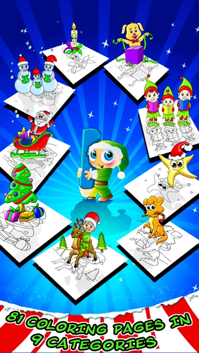 Christmas Coloring Toy Book screenshot two