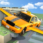 Flying Cab Yellow Taxi Flight Simulator F16 Carang