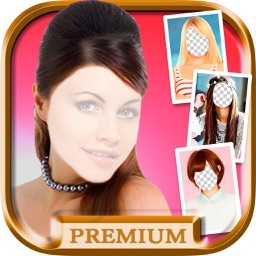 Makeover photo editor with hairstyles - Premium