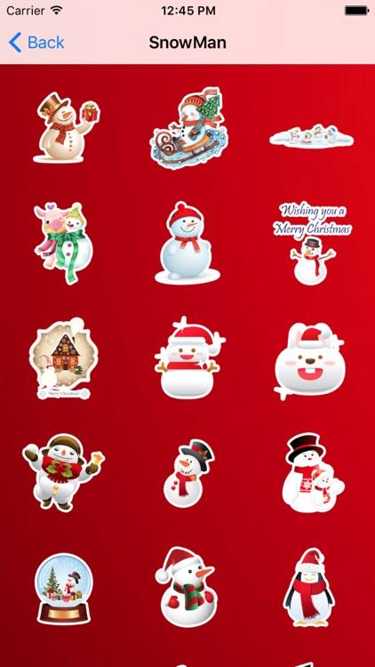 Holiday Emojis - Christmas Holiday Emoji & Sticker screenshot-3