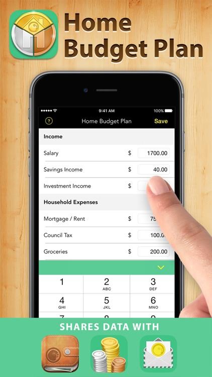 Home Budget Plan Pro screenshot-0