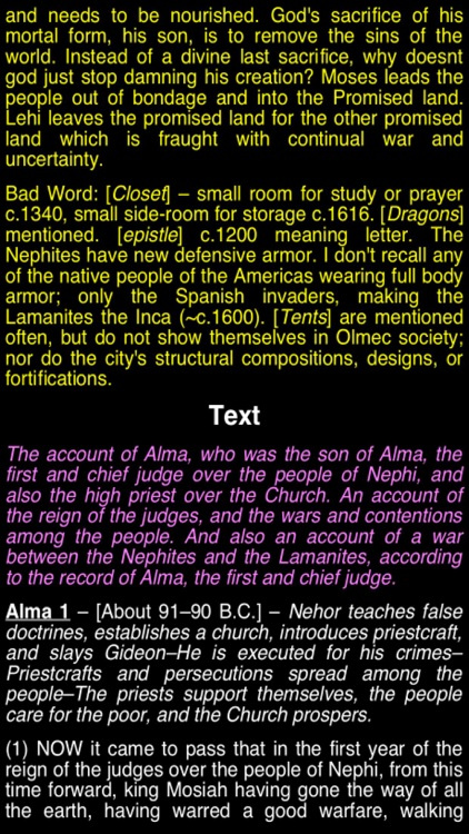 Summary Book of Mormon (part II) screenshot-3