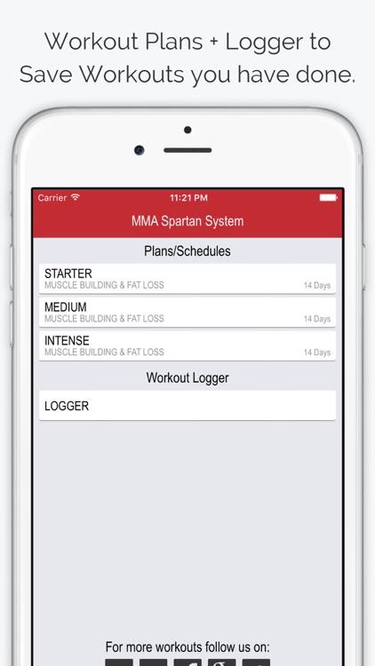 MMA Spartan Workouts Pro screenshot-4