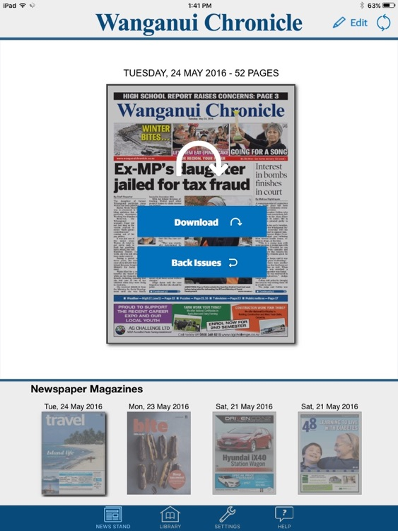 Wanganui Chronicle e-Edition screenshot-4