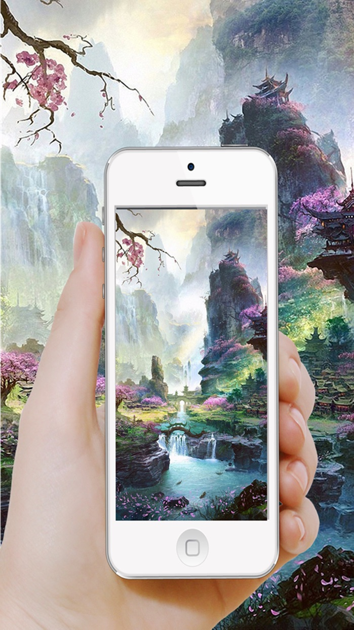 Moving Wallpapers HD-Dynamic Screen for free Screenshot
