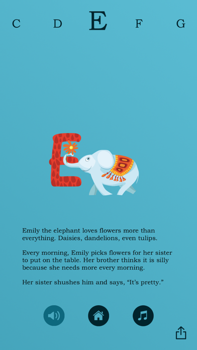 """""""Z"""" Is For Zebra: An Animated Alphabet Book screenshot two"""