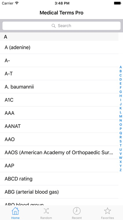 Medical Terms Pro - A Comprehensive Glossary