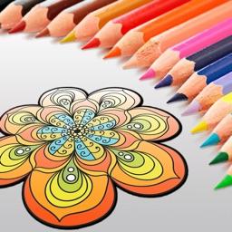 Mandala & Zen Anti-stress Coloring Book for Adults