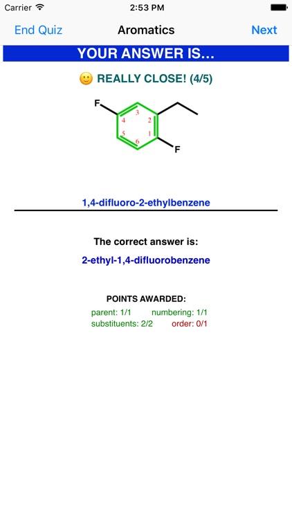 Learn Organic Chemistry Nomenclature 2 screenshot-3