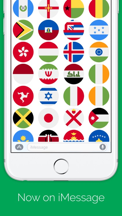 Country Flags - Flags stickers for iMessage