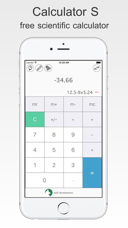 free scientific Calculator S
