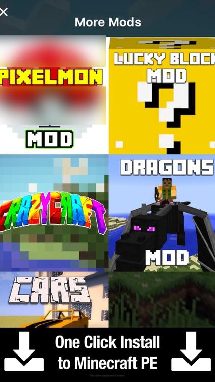 Crazy Craft PE for Minecraft Pocket Addons Edition