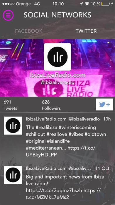 Ibiza Live Radio screenshot four