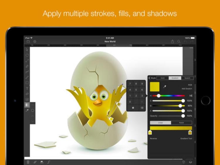 iDraw - Vector Design, Illustration & Graphic