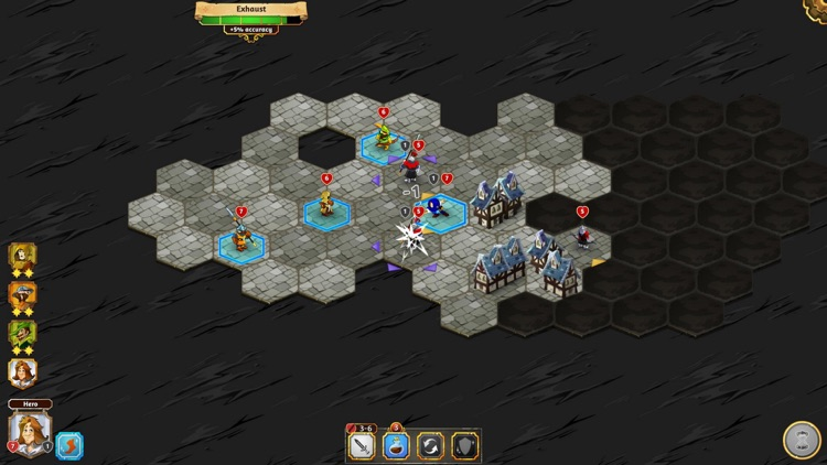Crowntakers - The Ultimate Strategy RPG screenshot-3