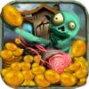 僵尸的宝藏:掌上电玩城经典街机游戏(推金币+水果***)