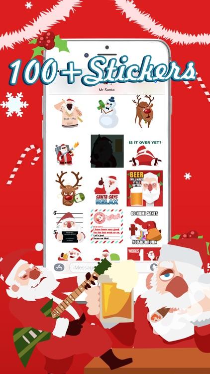 Shocking Santa - Santa Claus Gone Bad Stickers screenshot-0
