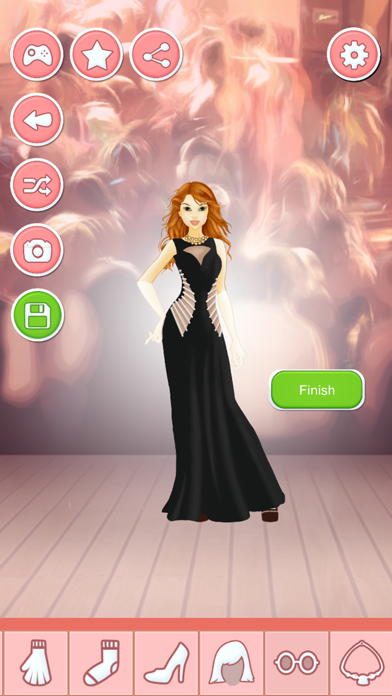 Prom Night Makeover Salon - Dress Up Games Screenshot on iOS