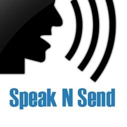 Speak N Send - Audio messaging via sms and email