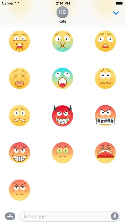 Urban Emoji 60+ Stickers screenshot-4
