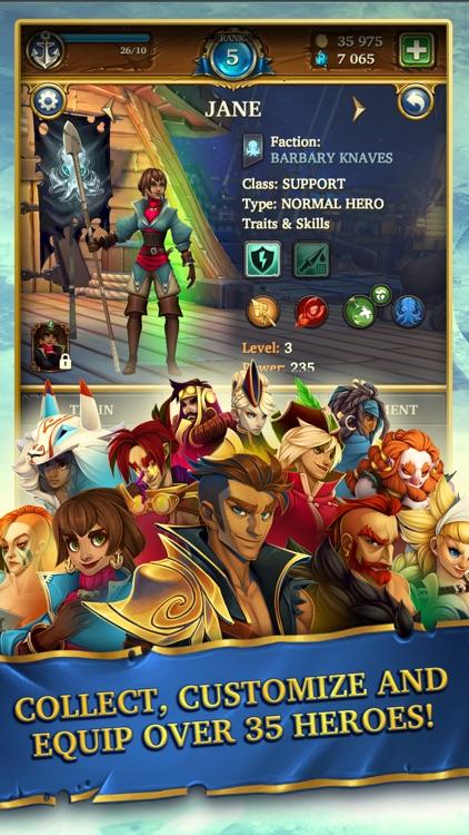 Saber's Edge - Puzzle RPG screenshot-0
