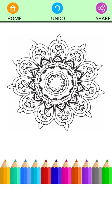 Coloring Book For Adults Pigment Pages Relaxation-1