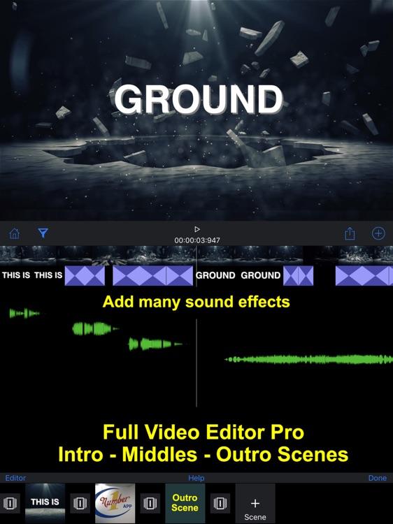 IntroMovies - Intro maker designer for iMovie (HD) screenshot-4