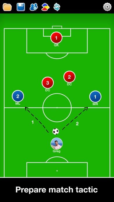 Screenshot for Coach Tactic Board: Soccer++ in Australia App Store