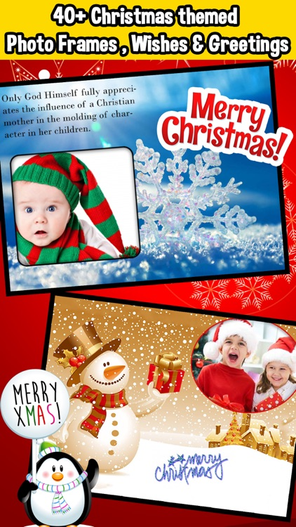 Christmas Wishes Frames & Collage screenshot-1
