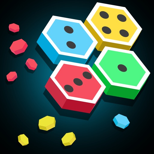 Merge Block Hexa - Puzzle Merged Logic 50 50 Addictive Extreme Game Icon