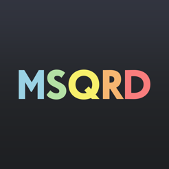 ‎MSQRD — Filtri in tempo reale per video selfie