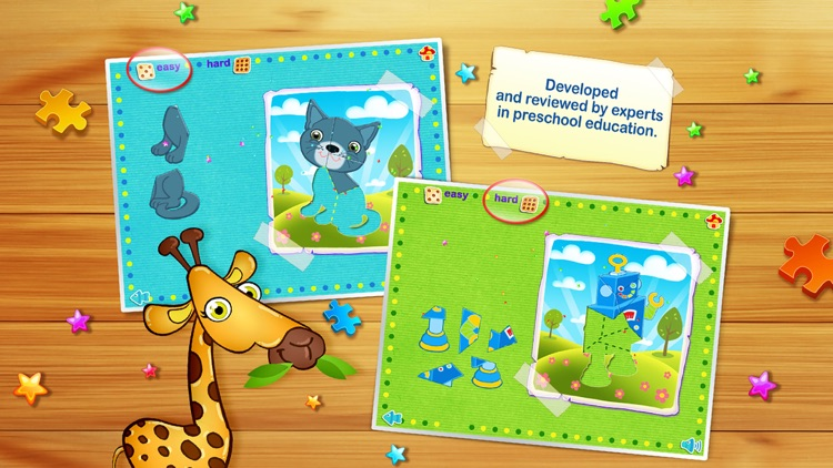 123 Kids Fun ANIMATED PUZZLE Jigsaw Puzzles Games screenshot-3