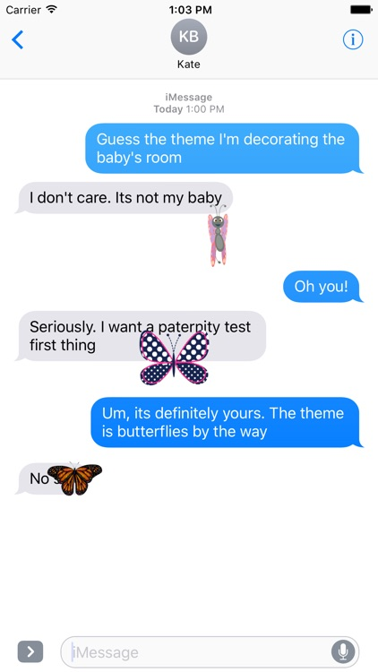 Butterfly Stickers screenshot-3