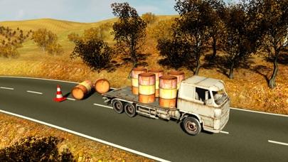 貨物4x4のオフロードトラックドライバーの交通シミュレータのおすすめ画像1