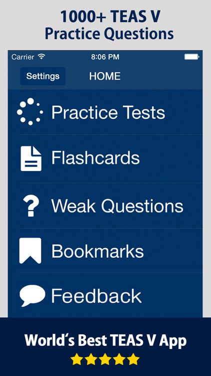 ATI Teas Practice Test Prep screenshot-0