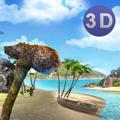 Lost Stranded Island Survival 3D